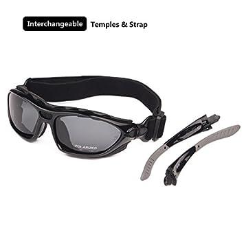 Helm Sonnenbrille auswechselbare TEM Brille polarisierte brillengl/äser klar Tag EnzoDate Motorrad Nacht