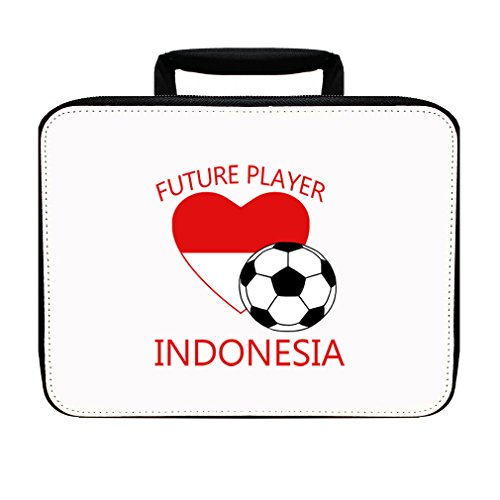 Future Soccer Player Indonesia Insulated Lunch Box Bag by Style in Print