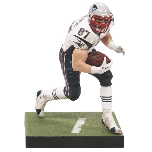Une action NFL New England Patriots McFarlane 2012 Series 29 Rob Gronkowski Figure