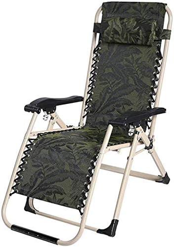 ZXL Silla Plegable de Camping, Silla de jardín reclinable ...