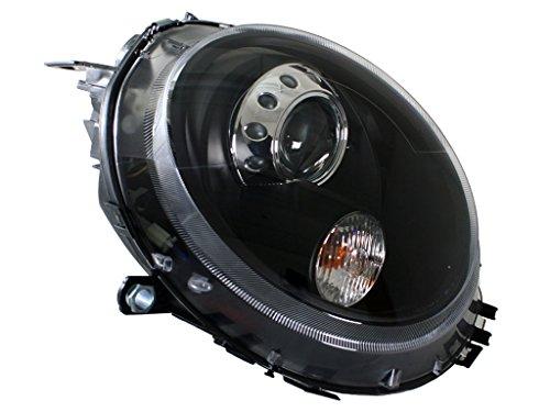 Mini Cooper R55, R56, R57, R58, R59 negro Proyector Faros delanteros: Amazon.es: Coche y moto