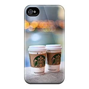 Protective Hard Phone Covers For Iphone 6 With Custom High-definition Starbucks Skin CristinaKlengenberg