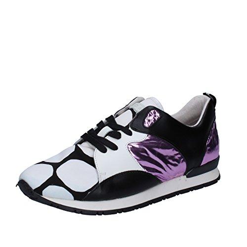 E Blanc D A pour T Baskets DATE Noir Femme 0n0E4frq6