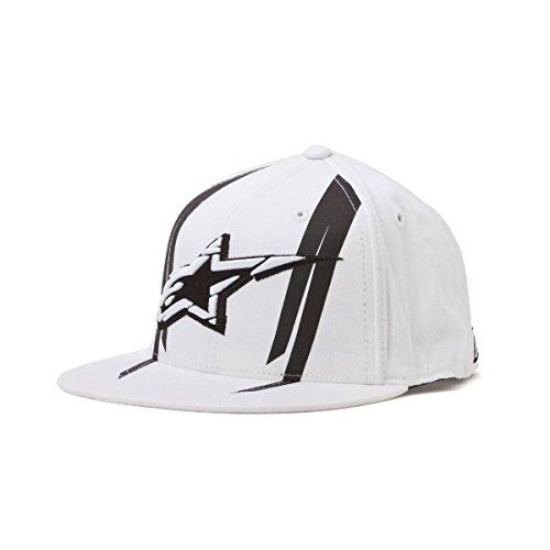 Alpinestars Official 210 Flexfit Hat White Sm-Md 10328101720SM