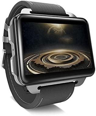 CARTEY Lemfo LEM4 Pro - Smartwatch con GPS, Tarjeta SIM, MP4 ...