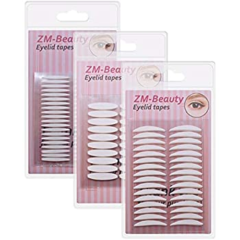 Amazon Com 3 Pack Invisible Double Side Sticky Eyelid
