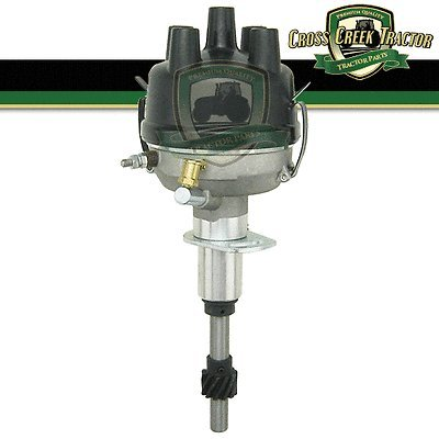 (Aftermarket Ford 8N12127B New Ford Tractor 8N Side Mount Distributor For Late Model Tractors)
