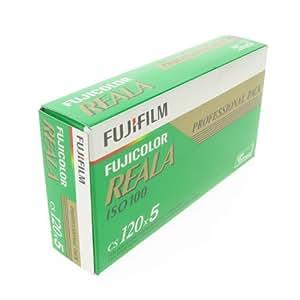 Fujifilm Reala 120 (5) - Película fotográfica a color (importado)