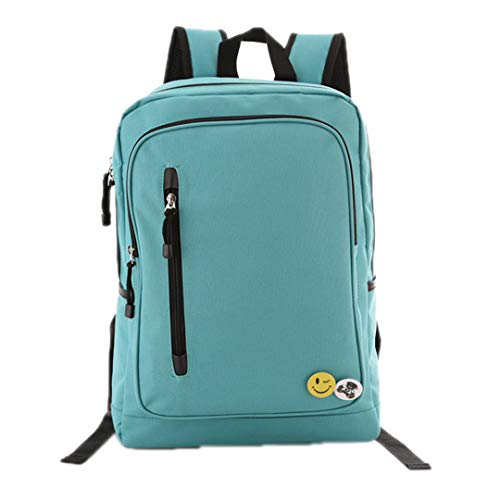 Men's 6 Laptop USB 15 Bag Waterproof 2Pcs Green Backpack dBfxI