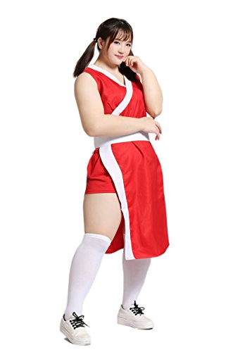 Vampire Leotard Costumes (Cosplayers Tokyo BS Japan Anime Uniforms [Plus size Ninja Suits] 1X-5X (14-32) (2X (18~20)))