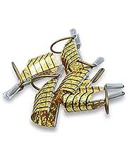 Kit 5 Moldes De Ferro Reutilizáveis Unhas Gel Acrigel Fibra