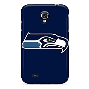 Hot Fashion IhS9827QPVJ Design Cases Covers For Galaxy S4 Protective Cases (seattle Seahawks 7)