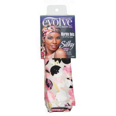 Evolve Marble Dots Silky Wrap Scarf Marble Dots