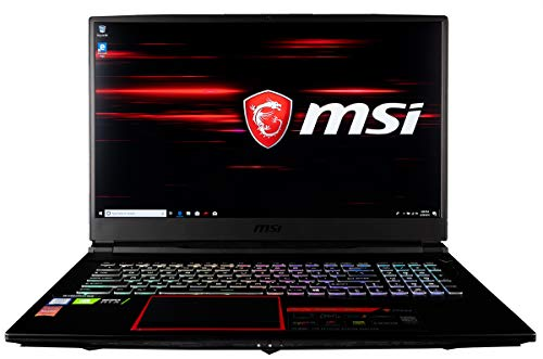 CUK MSI GE75 Raider Gamer Notebook (Intel i7-9750H, 32GB RAM, 512GB NVMe SSD + 1TB HDD, NVIDIA GeForce RTX 2060 6GB, 17.3