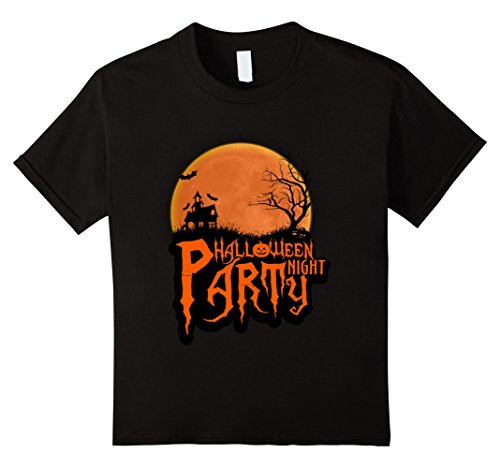 Kids Halloween Party Night T-Shirts Funny Gift For Halloween 2017 12 -