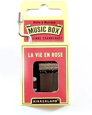 """Caja Musical """"La Vie En Rose"""""""