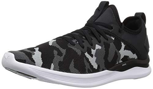PUMA Men's Ignite Flash Evoknit Sneaker Iron gate-Quarry Black, 11.5 M US