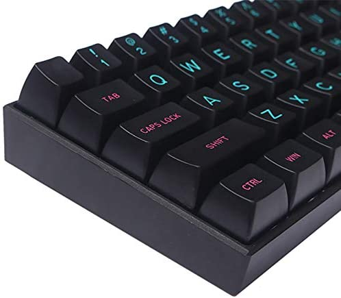 127 Keys 104 Base Key Cap + 23 Auxiliary Key Cap ABS Material SSSLG SA Keycaps Mechanical Keyboard Keycaps Miami Color