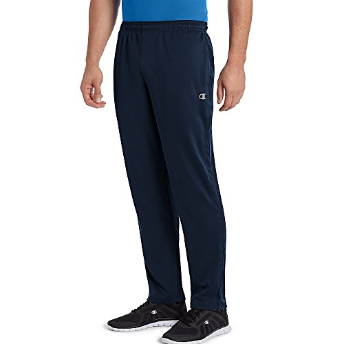 Champion Men's Double Dry Select Training Pant, Navy, S ()