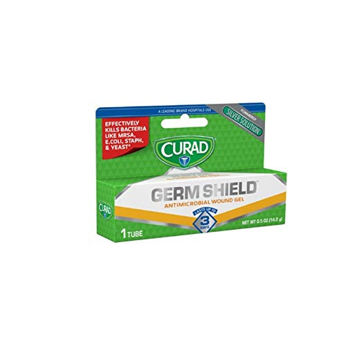 Curad Germ Shield Antimicrobial Gel 0.50 oz (Pack of 2) ()