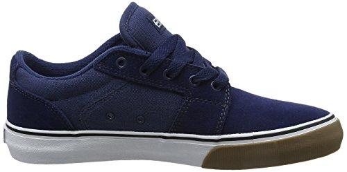 Gum LS Etnies White Blue Barge Skate Shoe 1RSUqR