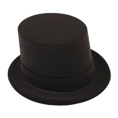 Ringmaster Hat Costume (Black Velour Topper)