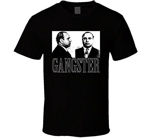T-Shirt Bandit Al Capone Chicago Mobster Gangster Mafia T Shirt 2XL Black