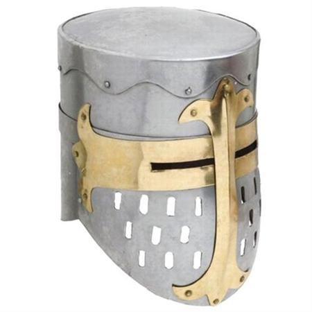 Knights Templar Crusader Helmet Medieval Armor - Knights Templar Helmet