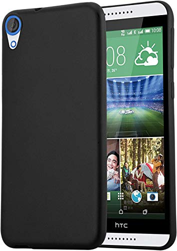 FITSMART Back Cover for HTC Desire 828 dual sim  Silicone Black