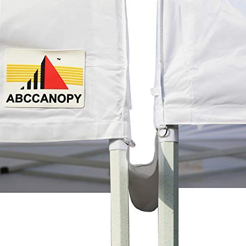 ABCCANOPY Canopy Accessories 10 Foot Canopy Rain Gutter/Light Gutter for 10′ X 10′ Canopy Pop up Tent-Gray