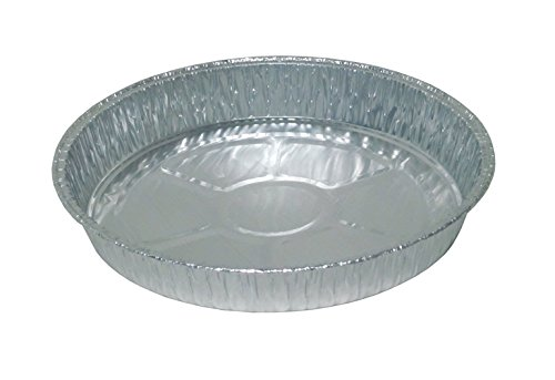 Durable Packaging Disposable Aluminum Round Cake Pan, 9'' Round x 1-7/16'' Deep (Pack of 500) by Durable Packaging