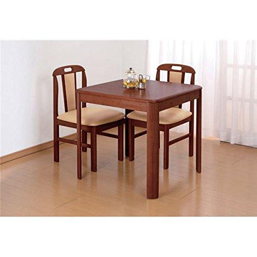 天然木ダイニングテーブル 正方形 B07BFXRXWBダイニングテーブル/正方形