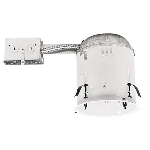Cooper Lighting H7RT 6-Inch Housing Non-IC Remodel Housing 120V Line Voltage