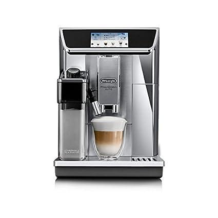 DeLonghi ECAM 656.75. MS–Kaffeemaschine (autonome, vollautomatisch, Espresso Maschine, Kaffee und Milch, Kaffeebohnen, gemahlenen Kaffee, Milchkaffee, Cappuccino, Espresso, Warmwasser, Latte Macchiato)