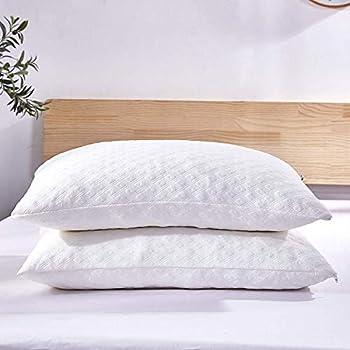 Amazon Com 2 Pack Shredded Memory Foam Bed Pillows For