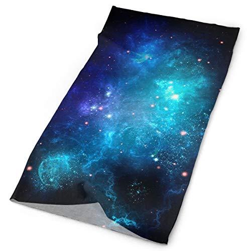 Ciuaole Galaxy Nebula Space Sports Seamless Tube Headwear Bandana Multifuntion Magic Scarf 25 x 50 cm ()