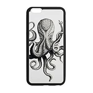 Best Slim Octopus Case Cover for iPhone 6 For Impact Protection Super Fit iPhone 6 TPU(Laser Technology) - 5.5 inches
