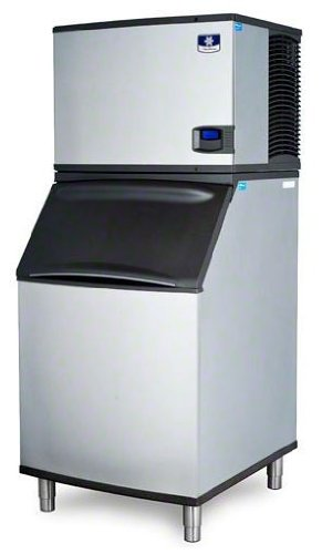 B570 Bin (Manitowoc IY-0505W_B-570 550 Lb Water Cooled Half Cube Ice Machine w/ Storage Bin)