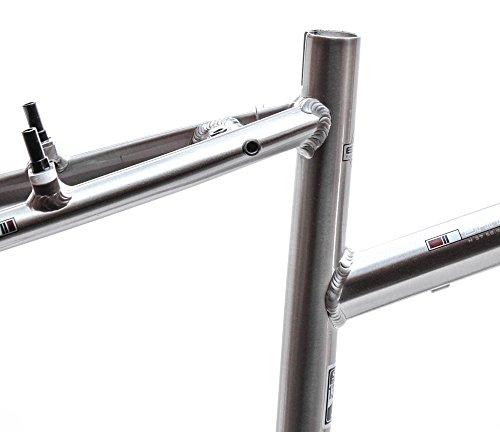 "15.5"" MARIN SAN ANSELMO Women's Step Thru Hybrid 700c Bike Frame Silver NOS NEW"