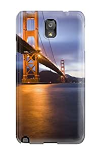 EpEzXdX104aJATE Snap On Case Cover Skin For Galaxy Note 3(golden Gate)