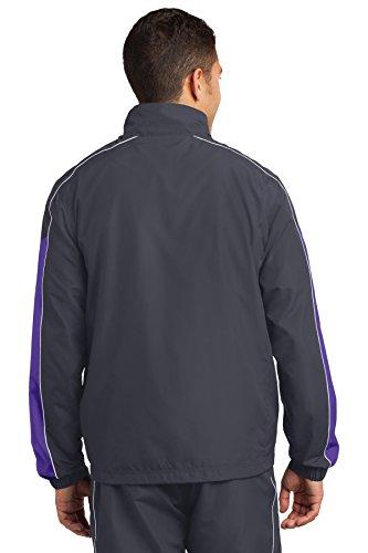 Sport tek Grey White Graphite Multicolore Giacca Purple Uomo ffxHqdr