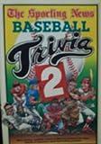 Sporting News Baseball Trivia II, Joe Hoppel, Craig Carter, Richard Waters, Tom Barnidge, 0892042427