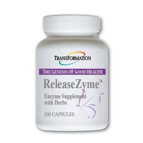 Transformation Enzymes ReleaseZyme, – #1 Practitioner Recommended – Provide's Digestive Support and Encourage Improved Delivery Of The Herbal Ingredients – 100 Capsules,