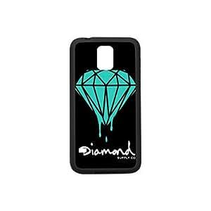 Custom Case for Samsung Galaxy S5,Diamond Supply Co Plastic and TPU Case