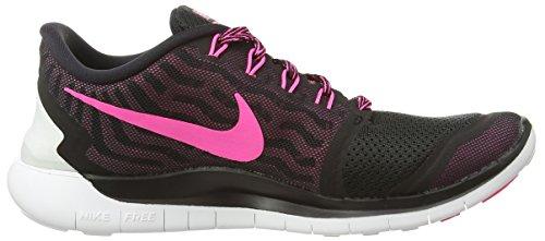 Wmns 5 Pow Nike Scarpe 0 Sportive Free Black Glw pnk Fl Pink pnk Donna aHSSqf1n