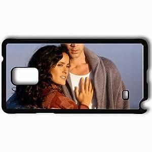 Personalized Samsung Note 4 Cell phone Case/Cover Skin Ask the Dust Colin Farrell Arturo Bandini Salma Hayek Camilla face Movies Black