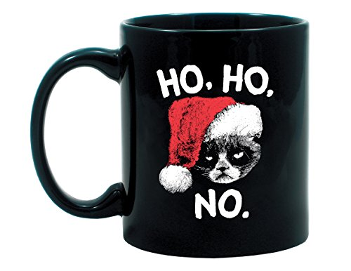 Ripple Junction Grumpy Cat HO HO NO Mug