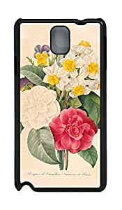 Samsung Note 3 Case nature flower colorful 15s PC Custom Samsung Note 3 Case Cover Black