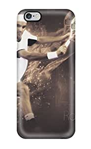 New Style Tpu 6 Plus Protective Case Cover/ Iphone Case - Roger Federer