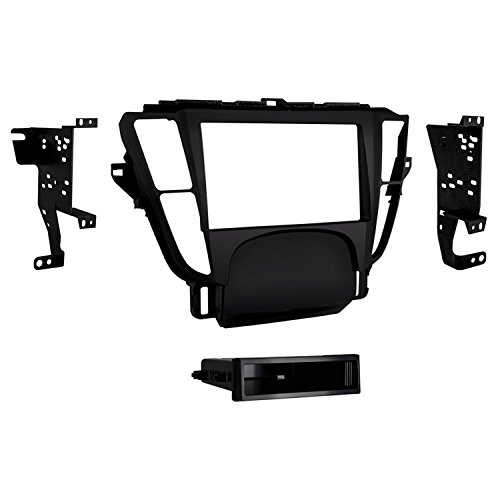 (Metra 99-7808B Single/Double Din Dash Kit for 2009 - 2014 Acura TL (Black))